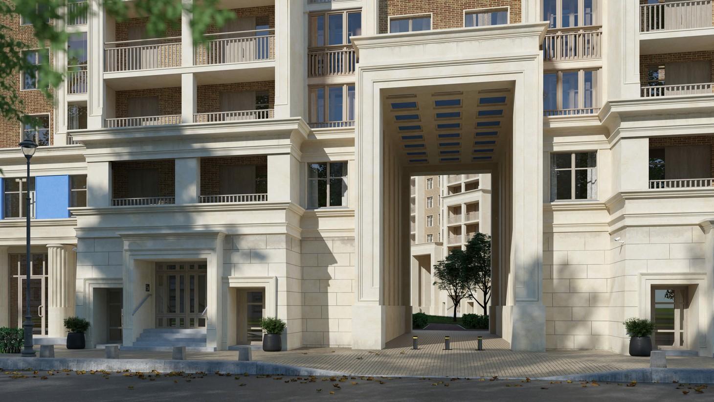 Сакральная архитектура античного Парфенона  с постконструктивизмом