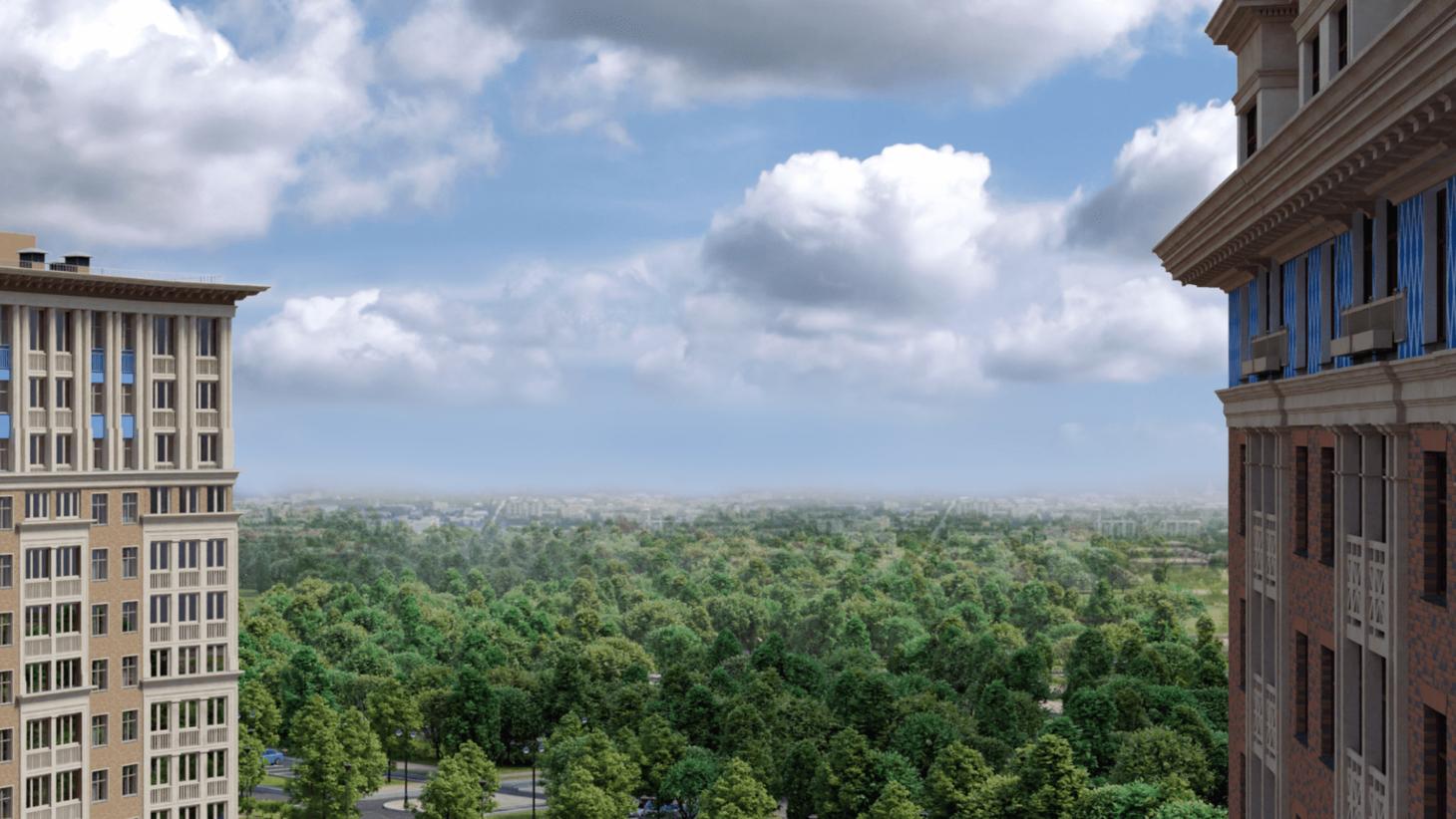 Свежий воздух и тишина — роскошь в современном мегаполисе.
