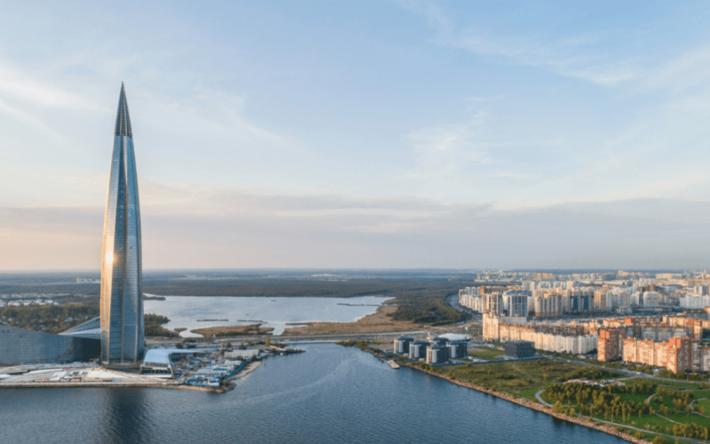 Доминанта района — «Лахта-центр» — жемчужина европейского континента. Центр деловой и культурной жизни Санкт-Петербурга.